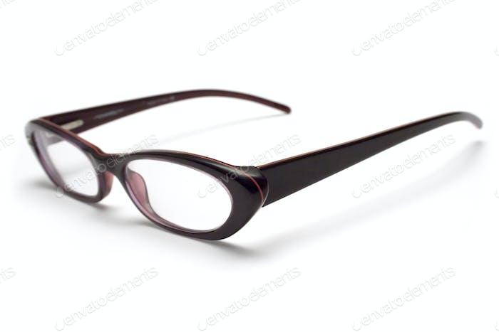 Stylish Eyeglasses Isolated on a White Background