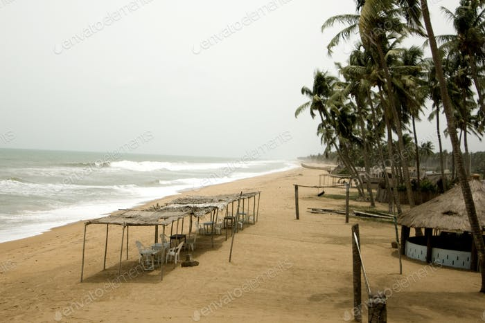 A beach in Benin