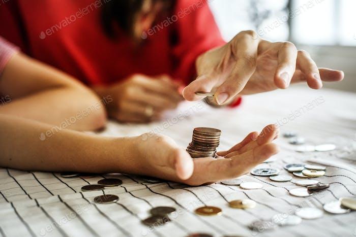 Kid ganando dinero para el Futuro