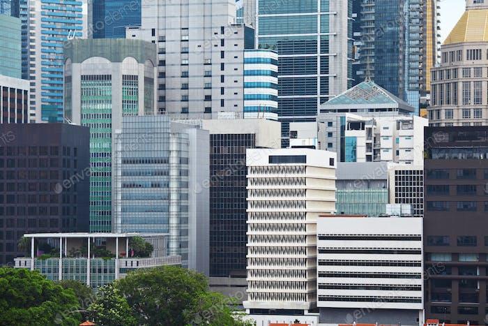Edificio comercial en Singapur