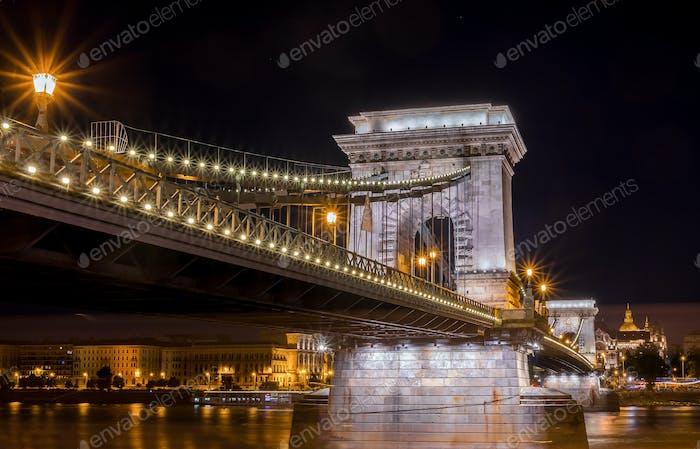 The Chain Bridge - Budapest
