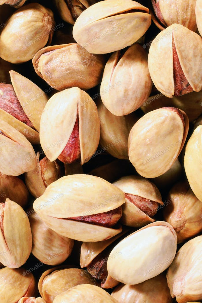 pistachios background view