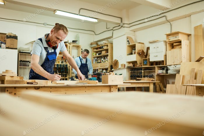 Carpenter Working in Joinery