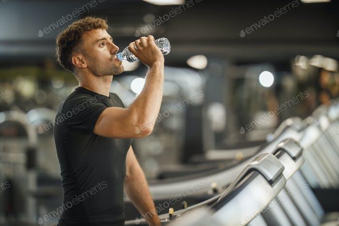 Drinking Water During My Break