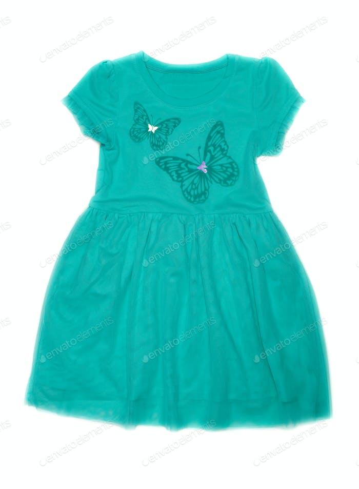 Kinderkostüm mit Schmetterlingsmuster