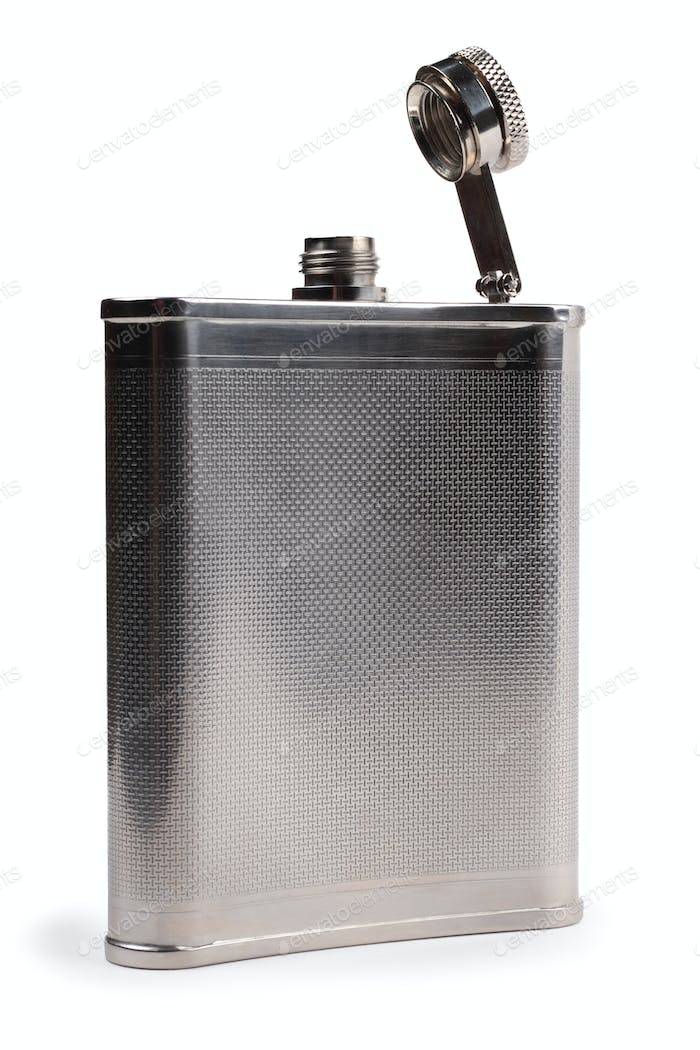 Flask for alcohol