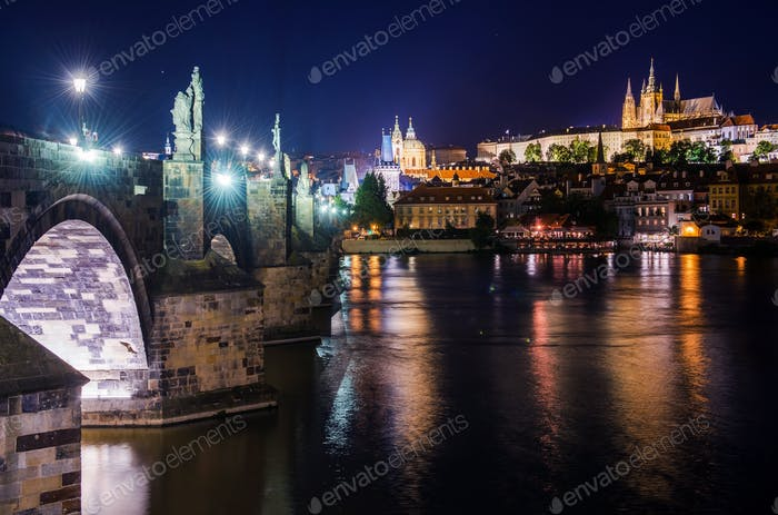 St Charles Bridge Prague