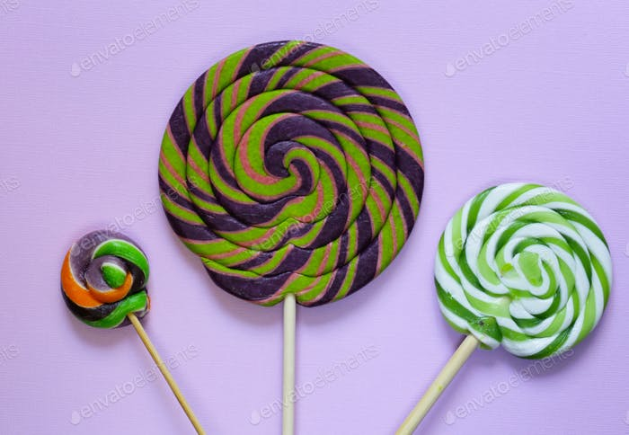 Colorful Lolly Pop Candy