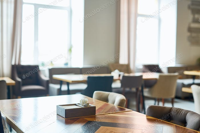 Luxurious cafe