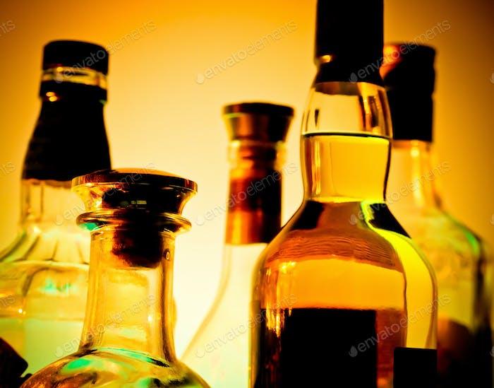 Бутылки для бара
