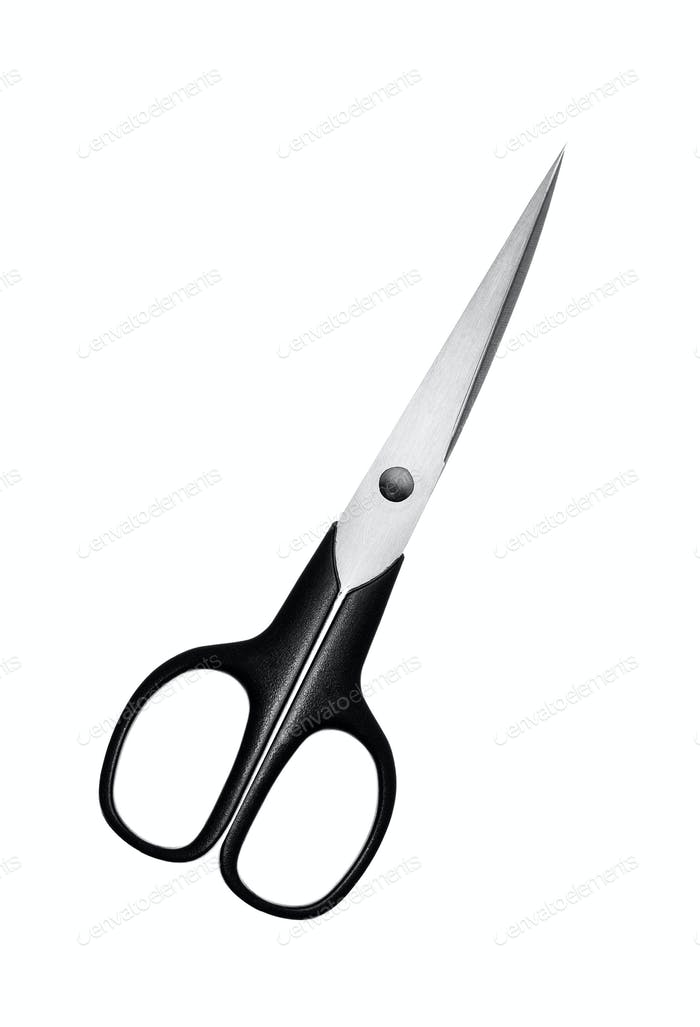 scissors isolated on white
