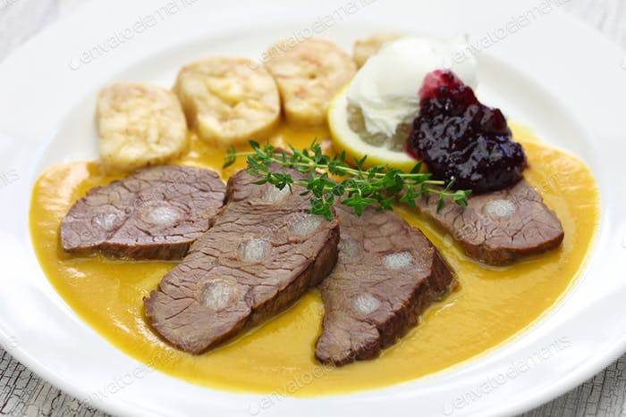 traditional Czech republic cuisine