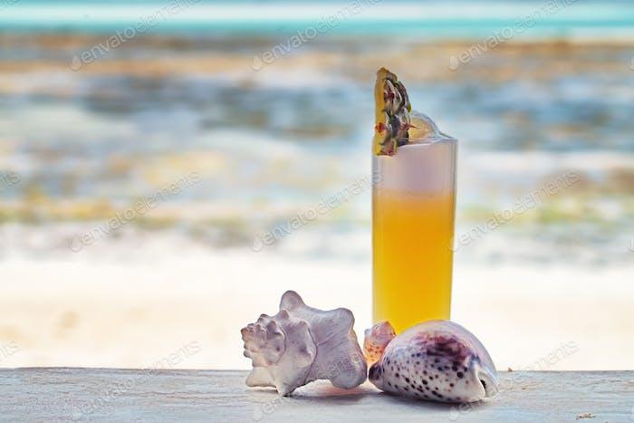 Cocktail am Strand