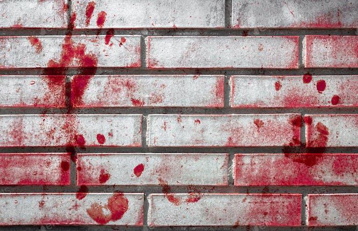 Blutige Wand