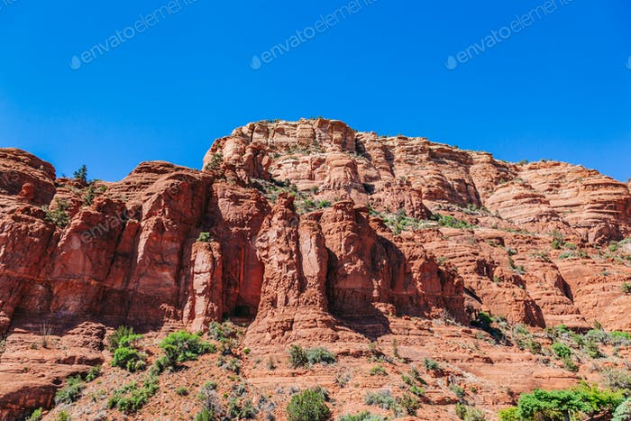 Red rock formations in Sedona, Arizona, USA