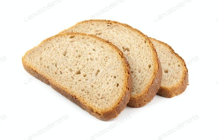 three slice of bread