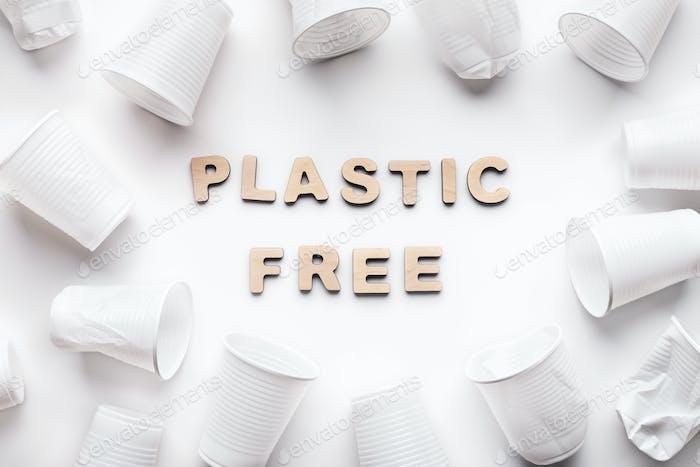 Plastic free concept