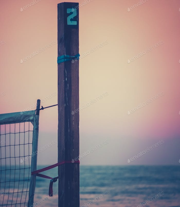 Californian Sunset Volleyball