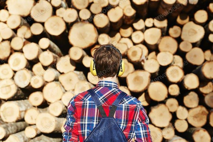 Lumber in uniform