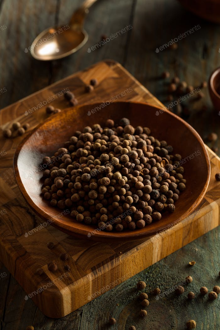 Raw Organic Brown Allspice