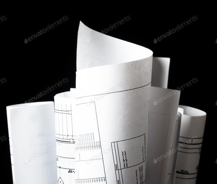 Architekturpläne und Hauspläne