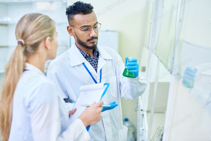 Medical Students in Laboratory