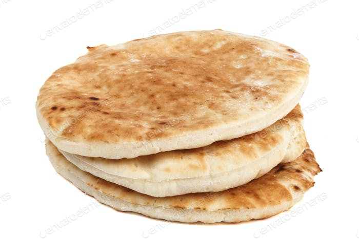 Pita Stack Isolated