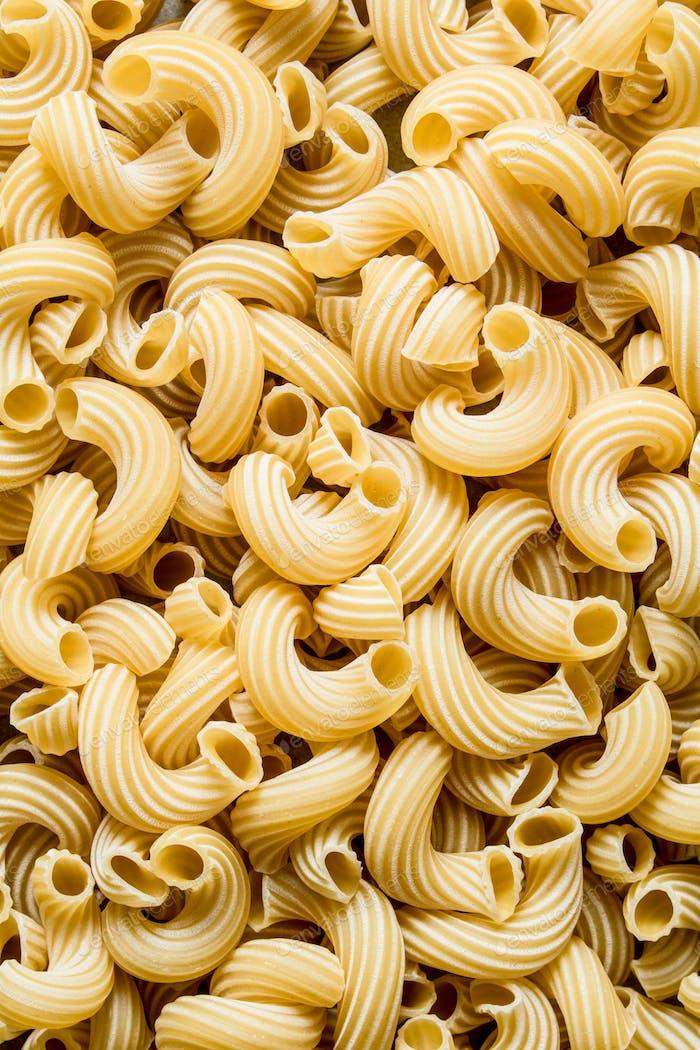 Pasta background. Dry pasta.