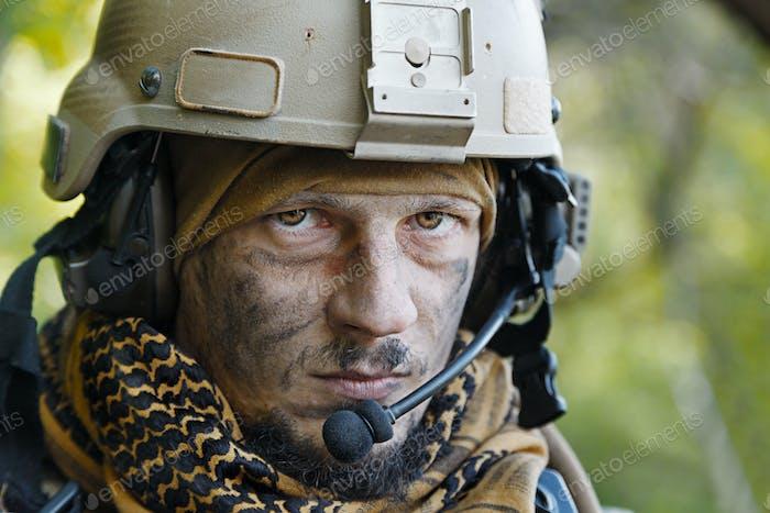 US Army Grüne Baskenmütze