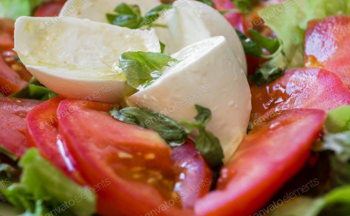 Italian salad, Caprese salad