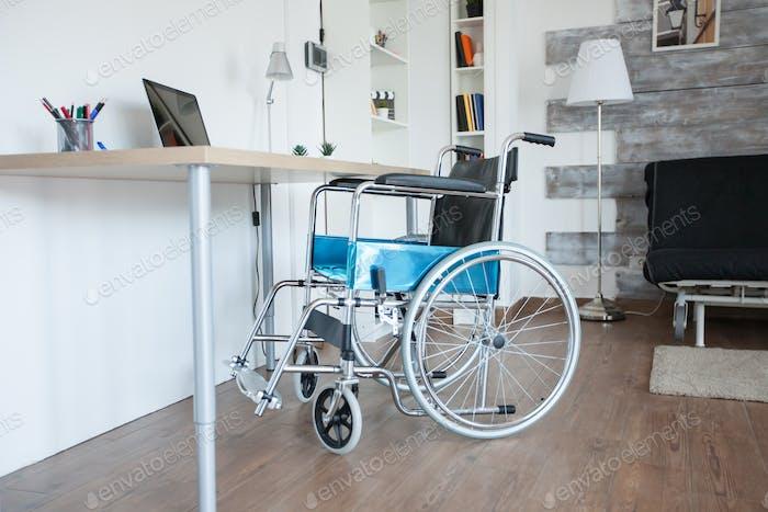 Wheelchair for sick patient