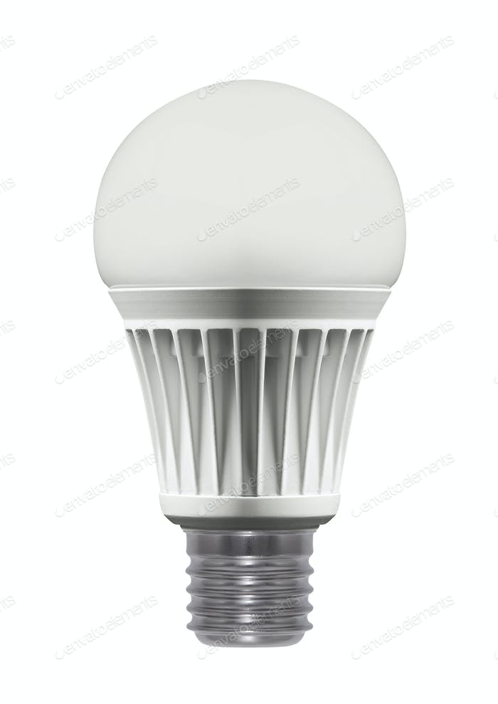 Light bulb, isolated ?? ????? ??????????
