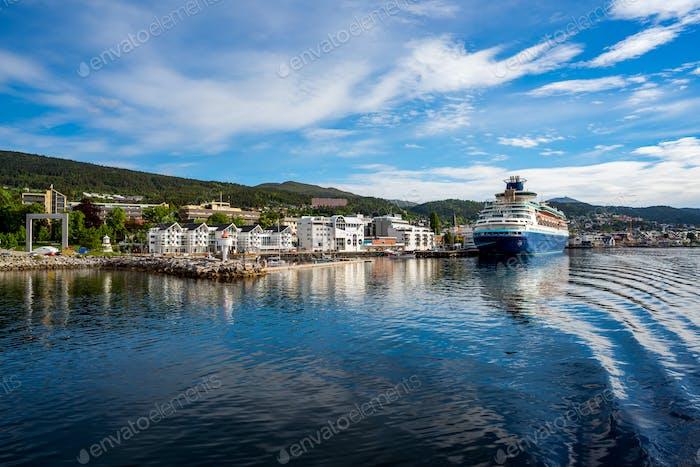 Molde en Romsdal, Noruega.