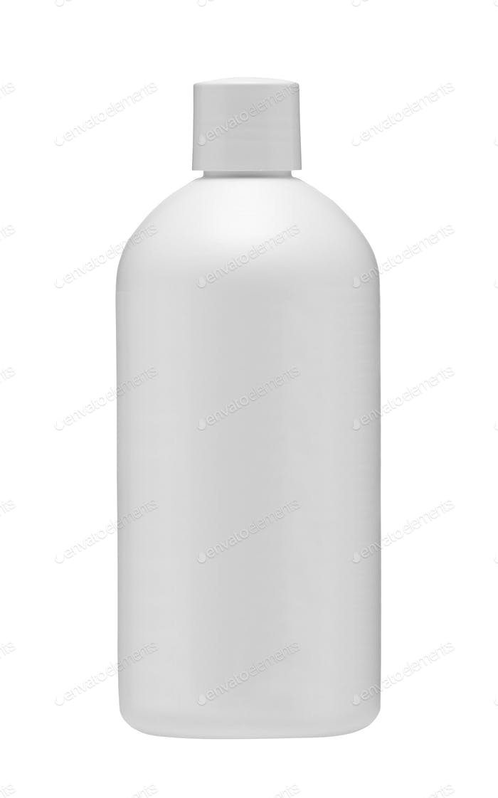 Medical bottle isolated