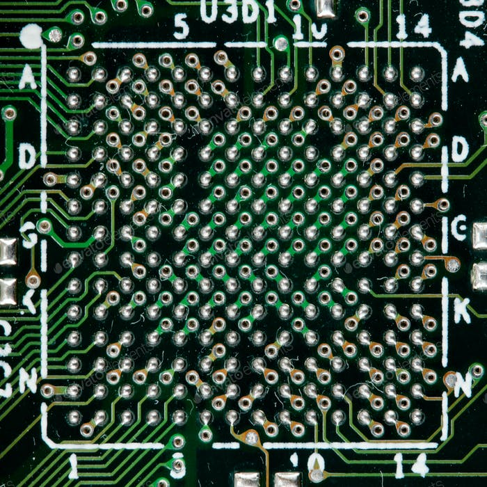 Computer electronic circuit
