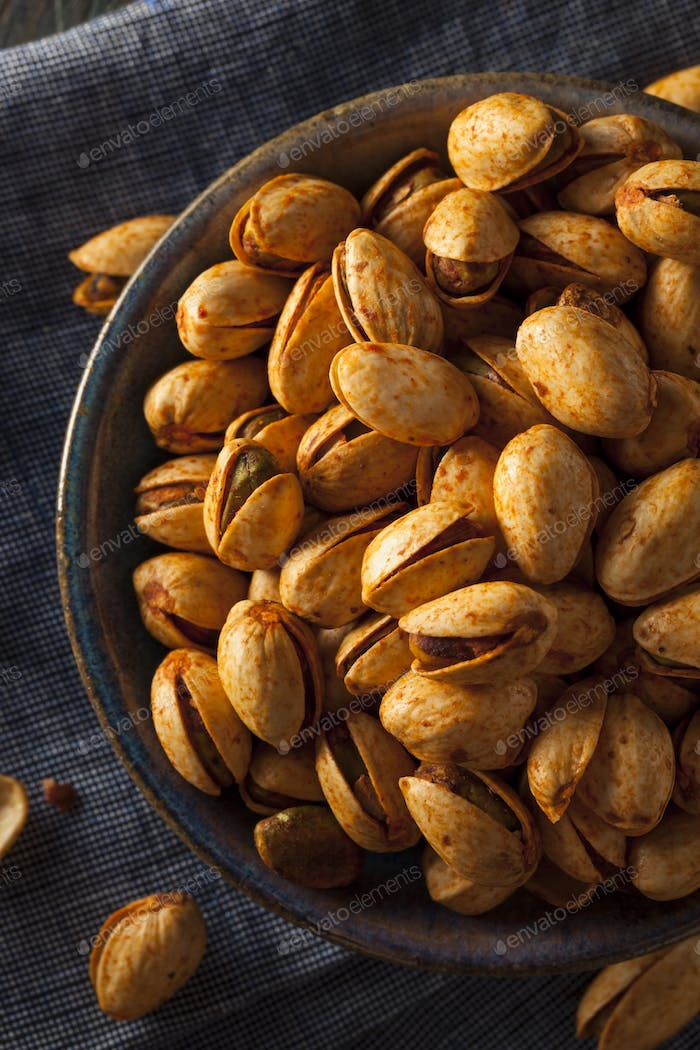 Spicy BBQ Chipotle Pistachios