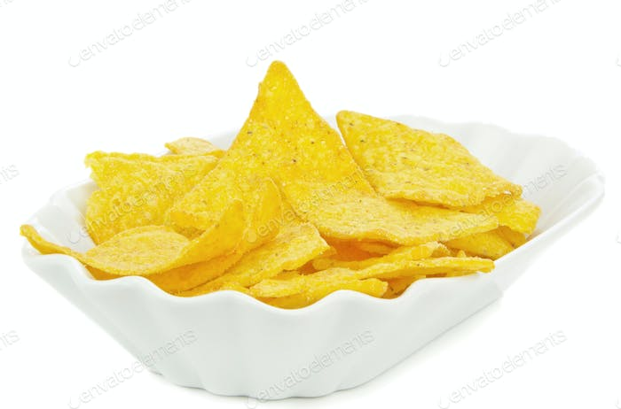 A Bowl of Tortilla Chips
