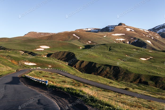 Mountain pass in Armenia