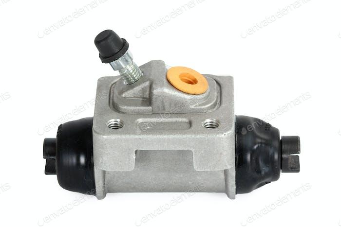 New hydraulic cylinder brake drum (isolated)