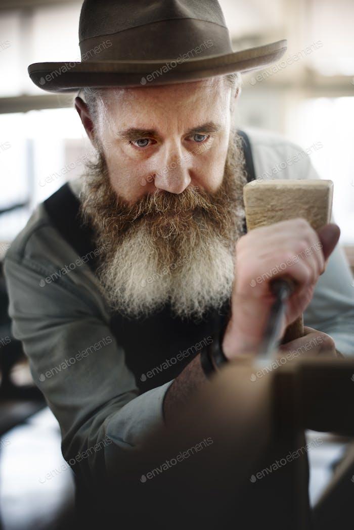 Плотницкое мастерство Плотницкие изделия ручной работы Деревянная мастерская Conc