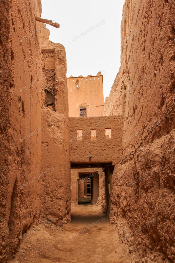 Old kasbah interior