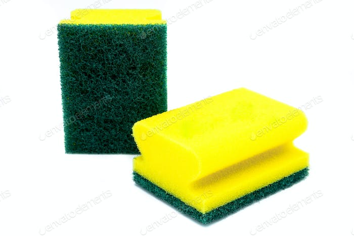 Two scourer