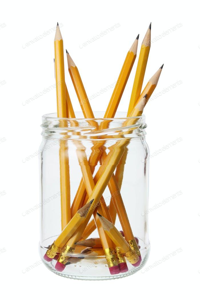 Pencils in Jar