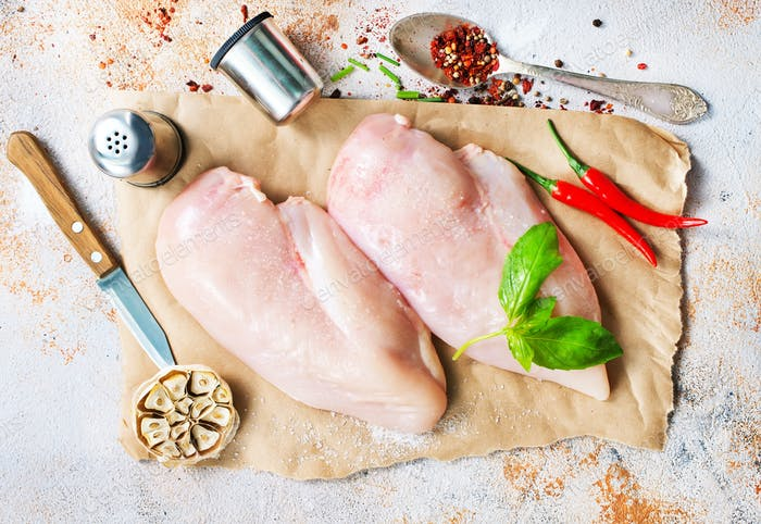 Thumbnail for raw chicken fillet