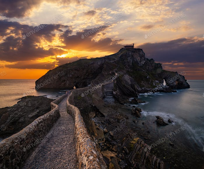 San Juan de Gaztelugatxe, Basque Country, Spain