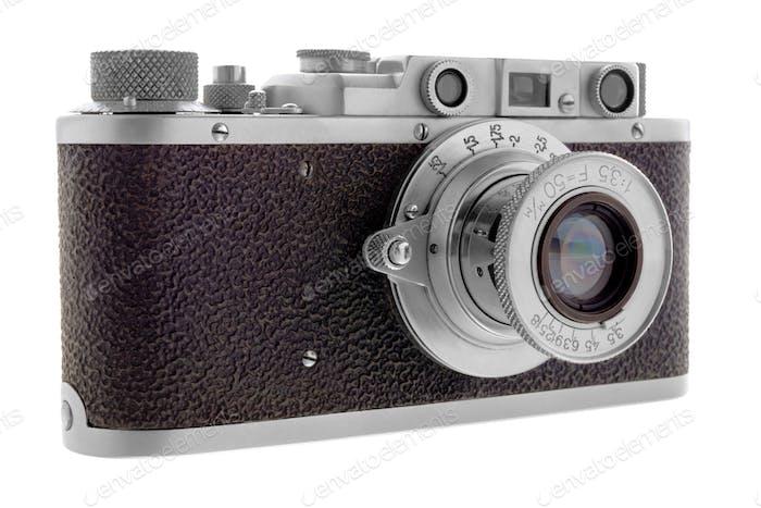 Classic rangefinder camera