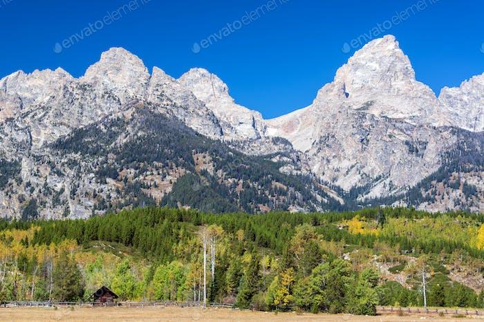 Teton Bereich und Vorgebirge