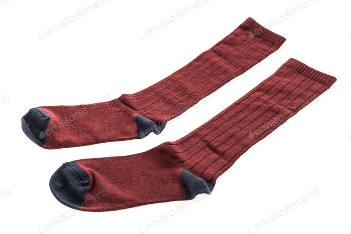 Pair of cotton sock for clothing