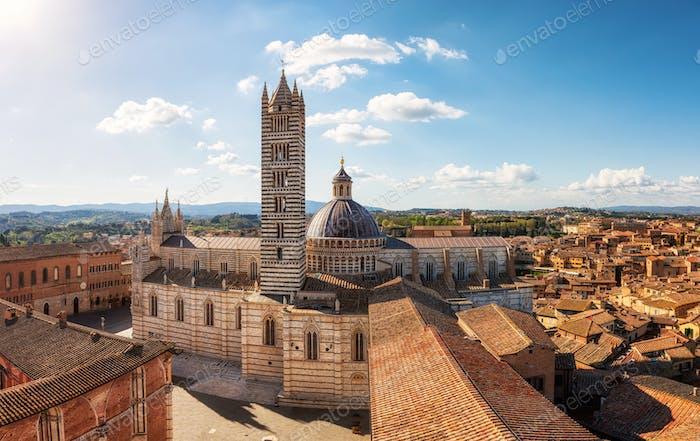 Altstadt von Siena, Italien