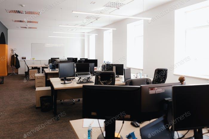 Современный интерьер офисных помещений.